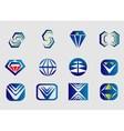 Abstract logo Designs vector image vector image