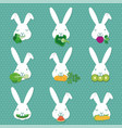 children education learn how to feed rabbit bunn vector image vector image