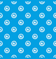 columbus day pattern seamless blue vector image vector image