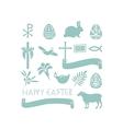 Easter Symbols vector image