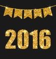 Happy New Year 201 vector image vector image