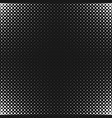 monochrome abstract halftone circle pattern vector image vector image