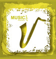music light template vector image vector image