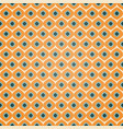 seamless geometric pattern in retro orange colors vector image