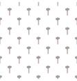Sledgehammer pattern cartoon style vector image vector image