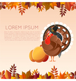 Thankgiving day banner4 vector image