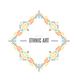 Tribal Emblem vector image vector image