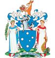 Victoria Coat-of-Arms vector image vector image