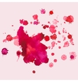 watercolour blots splash vector image vector image