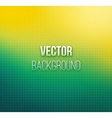Emerald-yellow color blurred background vector image