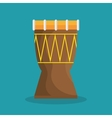drum traditional music brazilian vector image