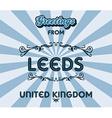 England design vector image vector image