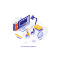 isometric concept vector image