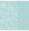light blue vertical cristmas background vector image