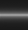 monochrome geometrical abstract halftone circle vector image vector image
