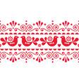scandi style textile design or frame background vector image vector image