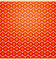 seamless geometric pattern in retro red colors vector image vector image