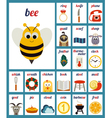 Set of Cards with alphabet phonemes