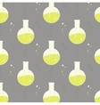 test tube glassware Chemistry pattern vector image vector image