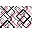 Trendy Geometric Seamless Pattern vector image