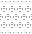 seamless pattern from dial switches clock icon vector image