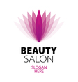 abstract logo beauty salon vector image vector image