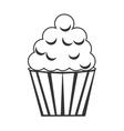 Cupcake delicious desert vector image vector image