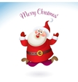 Happy New Year 2017 banner with Santa Claus vector image vector image