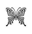 ornate butterfly for your design vector image vector image