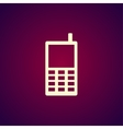 phone icon Flat design style vector image vector image