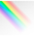 rainbow template abstract colorful spectrum of vector image vector image