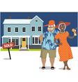 Real estate investors vector image