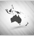 Australia map on gray background grunge texture vector image vector image