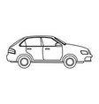 car vehicle transport speed motor image vector image vector image