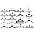 Clothes hanger silhouette collection
