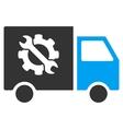 Equipment Truck Flat Icon