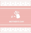 gift card on mothers day vector image