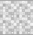 light grey colors ceramic tiles vector image