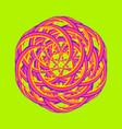 psychedelic mark vector image vector image