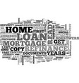 what s in your to do checklist for your refinance vector image vector image