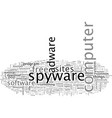 are you one affected spyware or adware vector image vector image