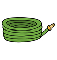 Cartoon hose vector image vector image