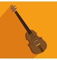 chello instrument isolated icon vector image vector image