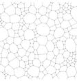 Chemistry pattern molecular texture polygonal vector image
