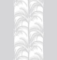delicate tropical pattern on a white background vector image vector image