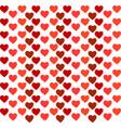 heart wallpaper on white background vector image
