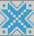 nordic seamless knitting pattern eps 10 vector image vector image