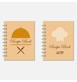 Recipe book designs vector image vector image
