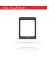 tablet icon flat design style vector image
