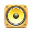 sound loud speaker icon vector image